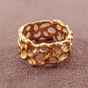 James Avery Artistic 14k Yellow Gold Band Ring